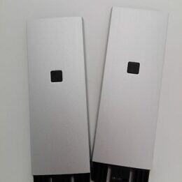 T-sarja jatkovarsi musta