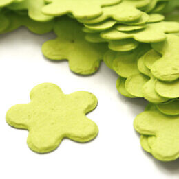 five_petal_confetti_lime_green
